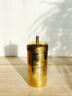 South Indian Brass Coffee Filter