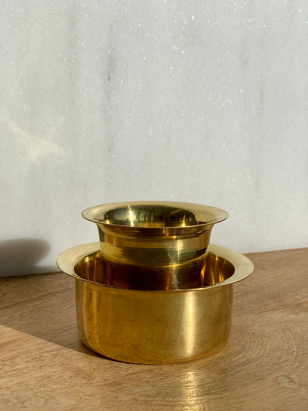 South Indian Brass Dabra Tumbler