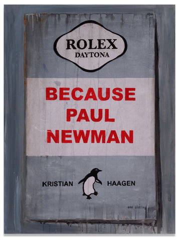 """Mr. Newman"" Artist Proof Canvas"