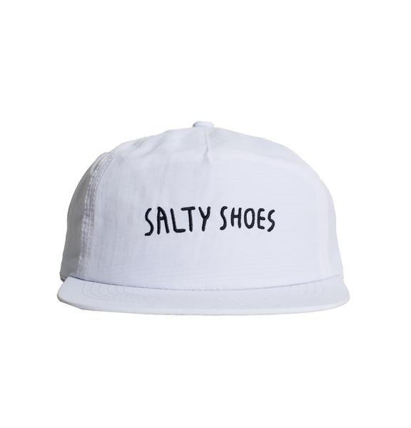 cae69b3ff0c Salty Shoes - Nylo Snap back White - Snapbacks - Minty Duds
