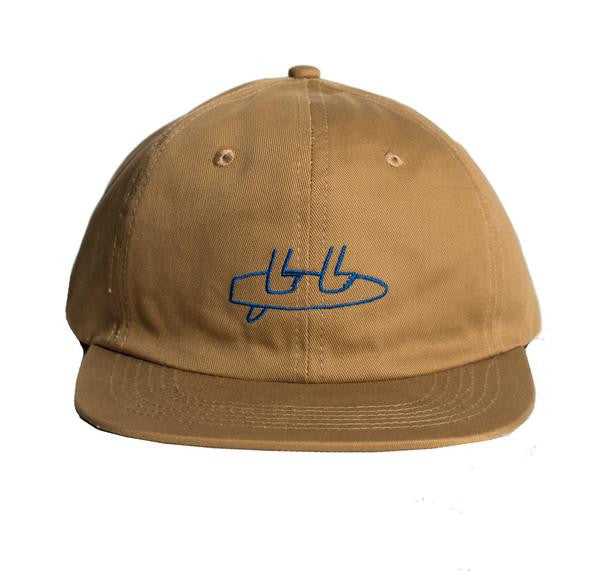 7df96607bf7 Salty Shoes - Feet Polo Cap Brown - Cap - Minty Duds ...