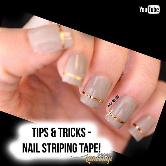 Nail art striping tape design lines the nail art store nail art striping tape design lines prinsesfo Images
