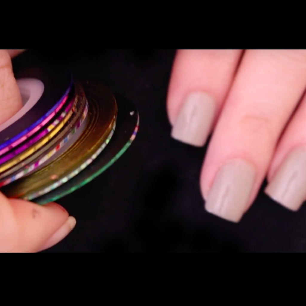 Nail Art Striping Tape Design Lines