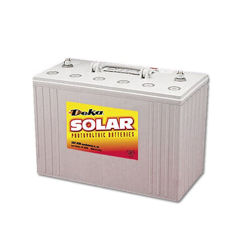 Deka 8G27 Gel Deep Cycle Battery - Solar Power eStore