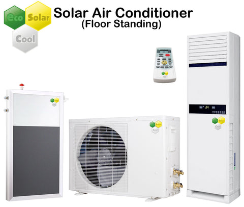 EcoSolarCool Solar Air Conditioner Floor Standing - Solar Power eStore