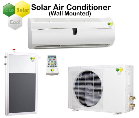 EcoSolarCool Solar Air Conditioner Wall Mounted - Solar Power eStore