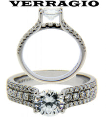 discount Verragio jewelry Verragio diamond engagement ring