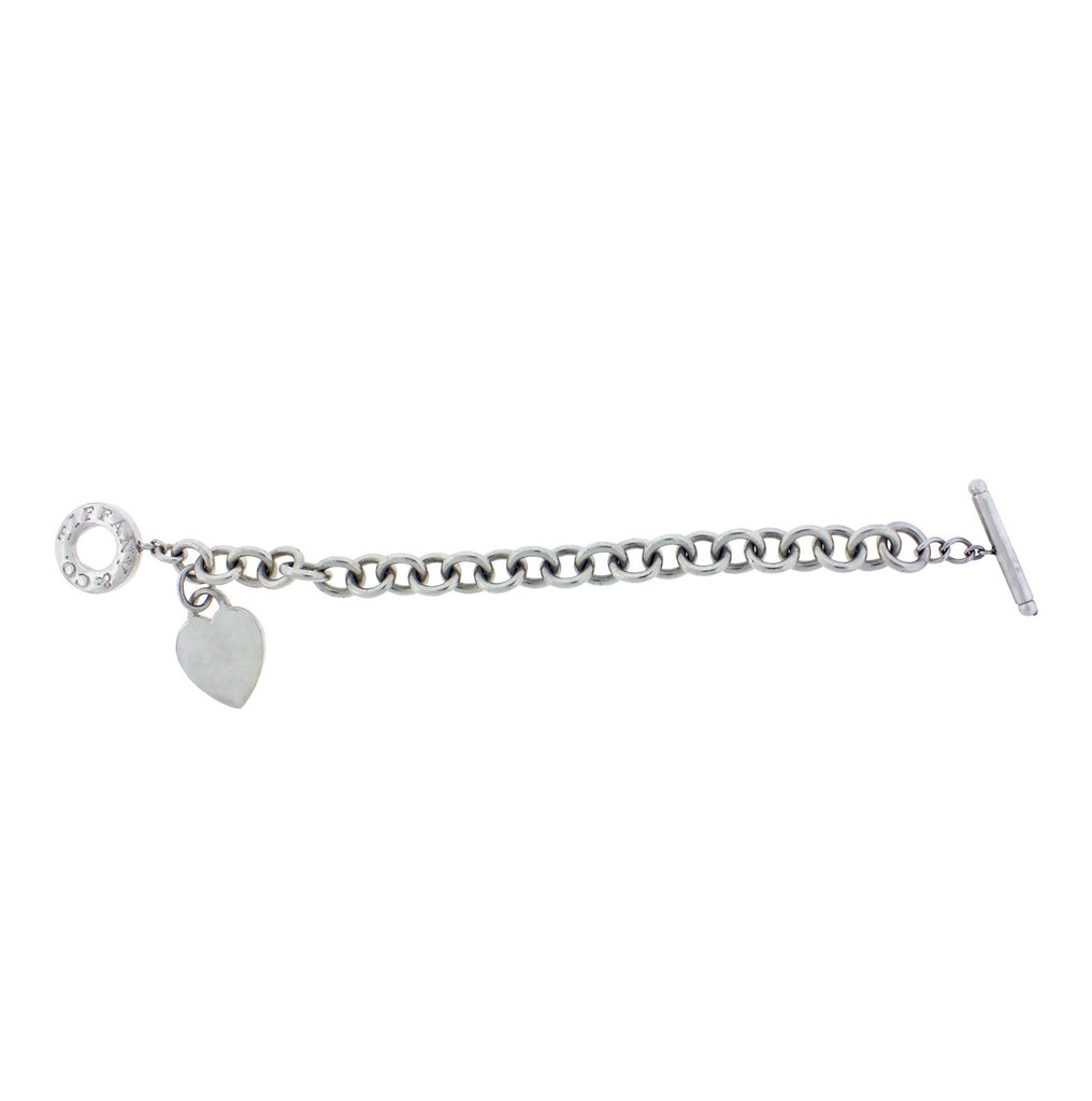 Return to Tiffany & Co bracelet in silver used in good condition 7.5 inches