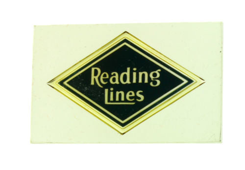 Franklin Mint Reading Lines emblems of American Railroads bar in sterling silver