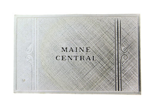 Franklin Mint Maine Central emblems of American Railroads bar in sterling silver