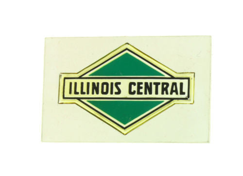 Franklin Mint Illinois Central emblems of American Railroads bar in silver