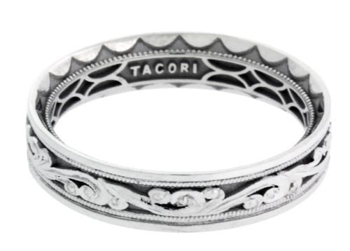Tacori 104-5 Sculpted Crescent wedding band in 18k size 10.5.
