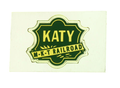 Franklin Mint Katy Railroad emblem of American Railroads bar in sterling silver