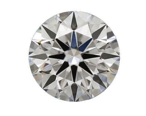 Moissanite Diamond Equivalent 1.50 carat 7.5mm Brilliant cut