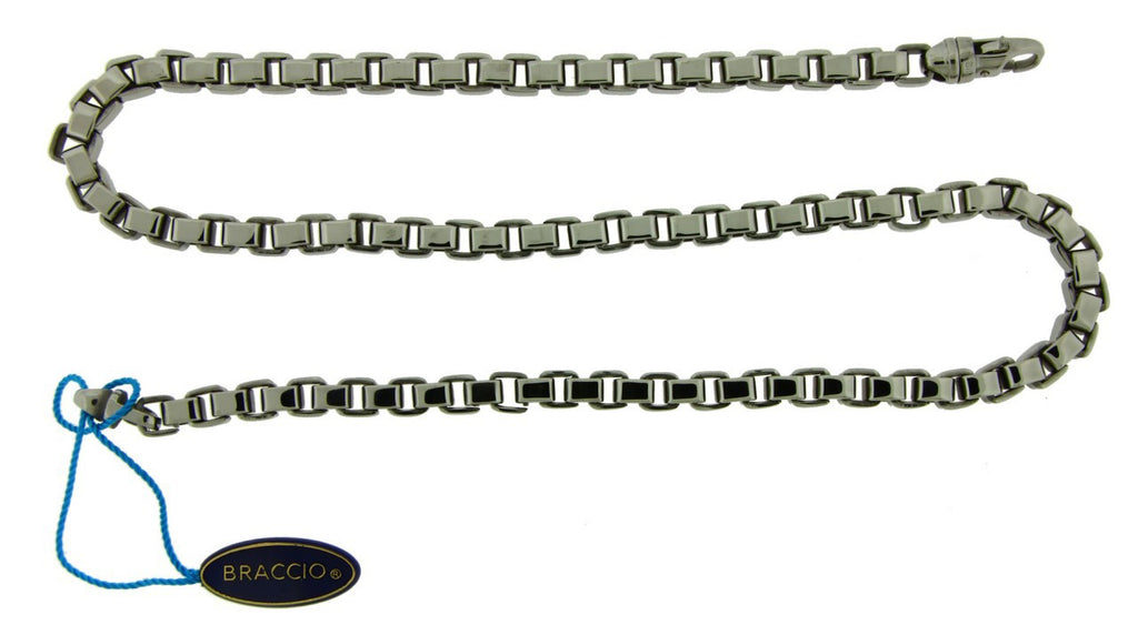 Braccio SS3617-24 men's chain in stainless steel 24 inches