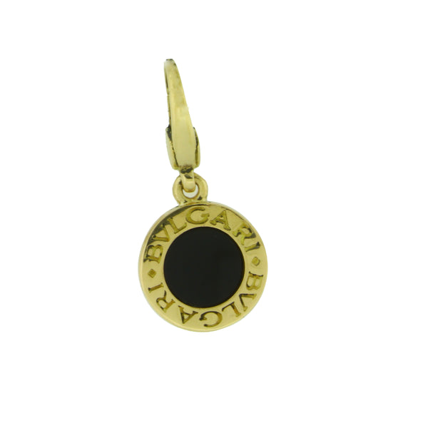Bvlgari Bvlgari black onyx Charm / Pendant in 18 karat yellow gold