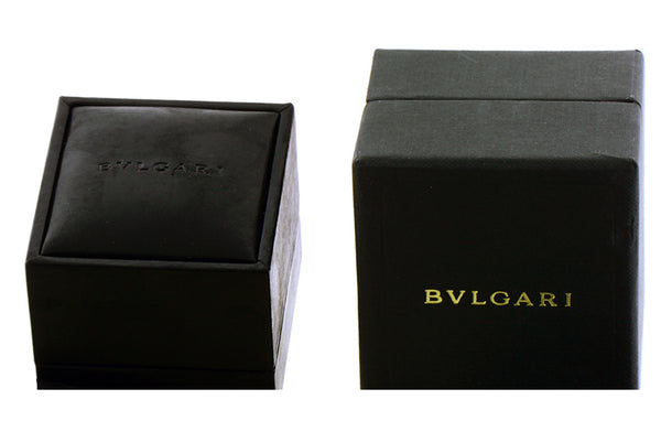Bvlgari OR857051 18k rose gold Divas Dream onyx & mother of pearl earrings