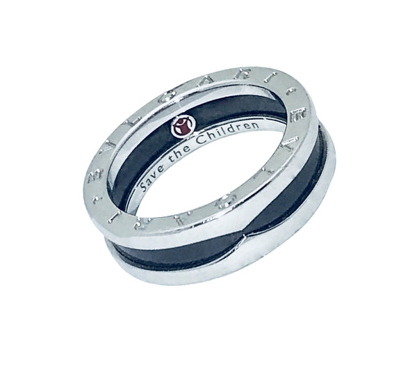 Bvlgari B.zero1 AN855770 one band Save the Children ring size 57, US 8.25