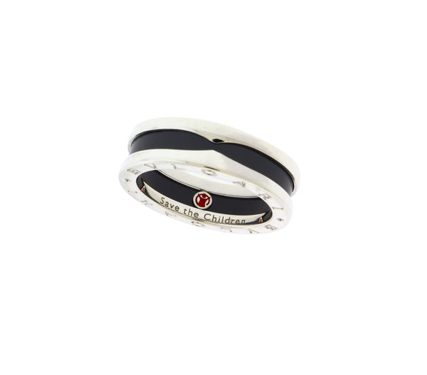 Bvlgari B.zero1 AN855770 one band Save the Children ring size 60, US 9.25