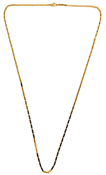Chimento 18k pink gold necklace 18 inches long