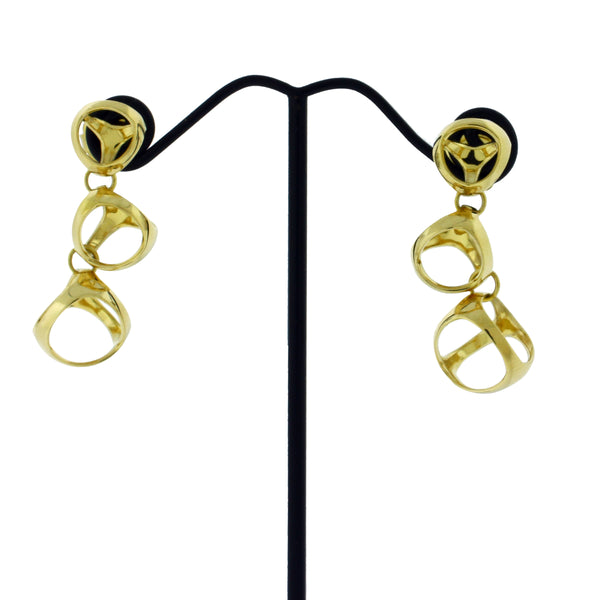 Di Modolo Triadra Earrings in 18K yellow Gold