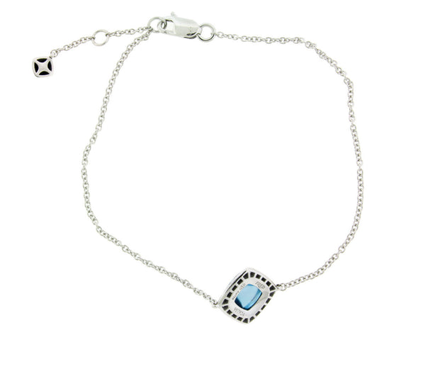 "Fred Paris ""Pain de Sucre"" topaz bracelet in 18k white gold"