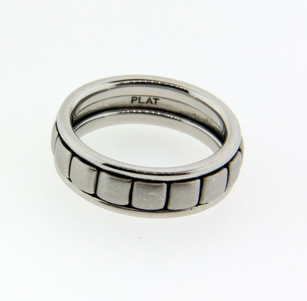 Scott Kay Men's wedding band in Platinum size 10