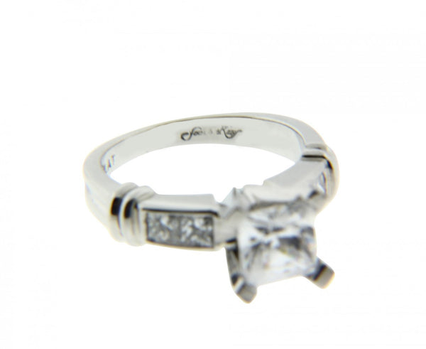 Scott Kay .40ct diamond Engagement ring in Platinum fits 1.4ct to 1.75ct new