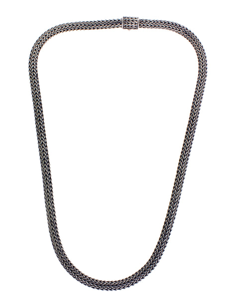 John Hardy NB904C 6.5mm Classic Chain Necklace in sterling silver 18""