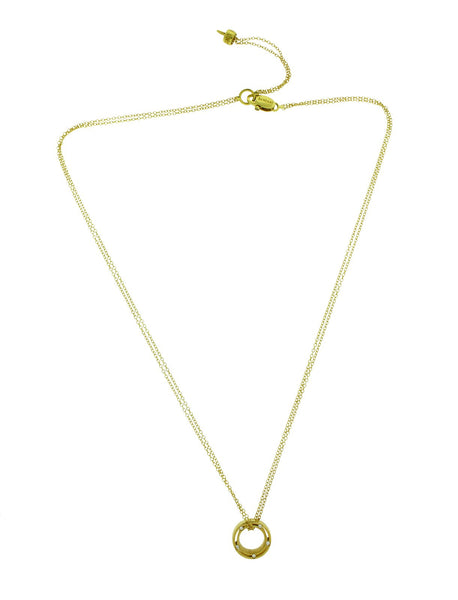 Damiani D.side Brad Pitt diamond necklace in 18 karat yellow gold