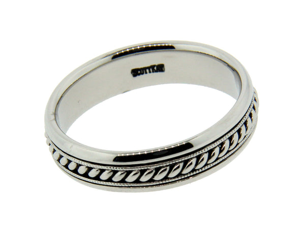 Men's Scott Kay wedding band in Palladium size 10.75 new