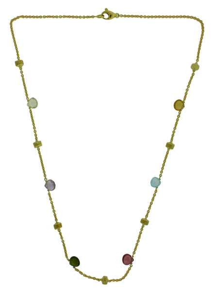 Marco Bicego women's 18k multicolored Stone Paradise Necklace