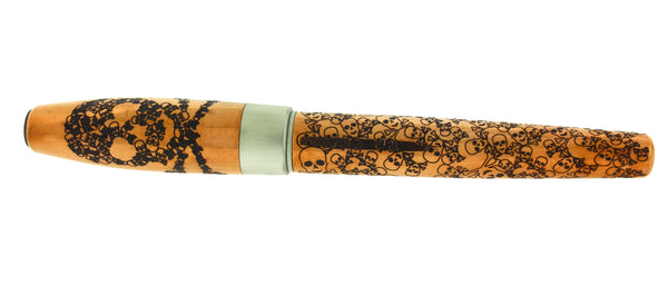Montegrappa Merry Skull Copper Rollerball Pen ISFOSRCU new in box