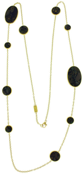 IPPOLITA 18K ROCK CANDY DOUBLE STRAND EXTRA LONG 37 INCHES