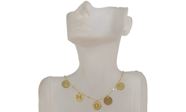 Pasquale Bruni Amore necklace in 18k yellow gold.