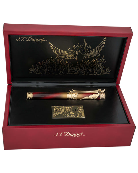 S.T. DUPONT limited edition 242035 Phoenix Renaissance Rollerball Pen