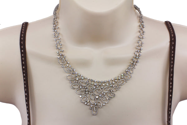 Stefan Hafner 18k white gold diamond necklace R $78500