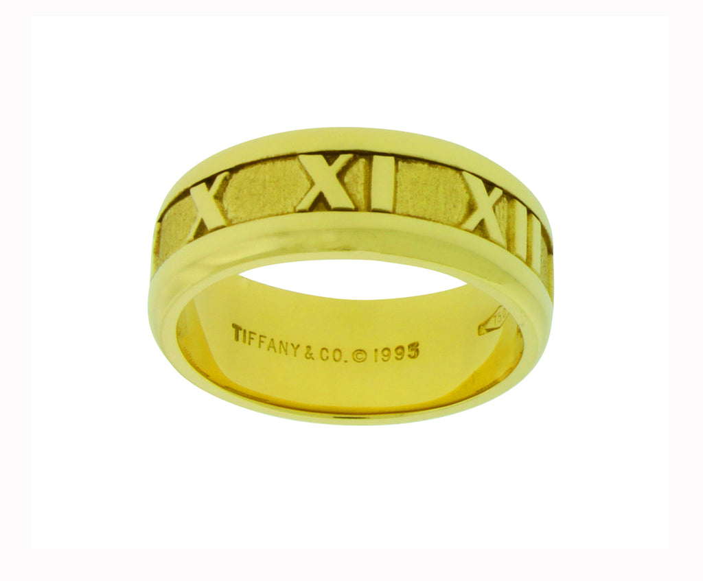 e0890d1cd TIFFANY & CO Atlas band ring in 18k yellow gold in new condition size –  JEWELRY BY DAVID | FINE JEWELRY & ACCESSORIES