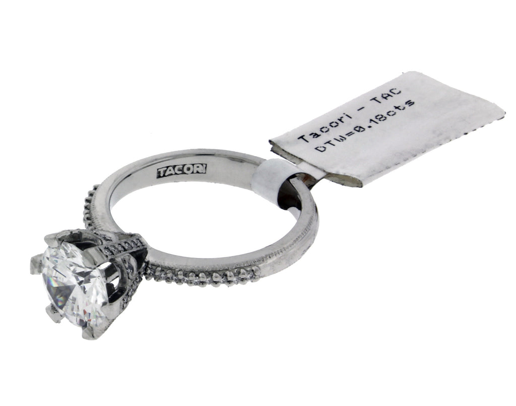 Tacori 2507 RD diamond engagement ring in Platinum fits 1.25ct diamond size 6.5