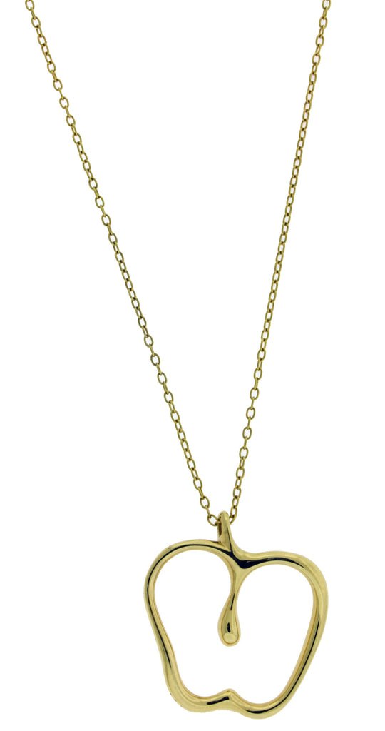 7d1d36120 Tiffany & Co Elsa Peretti Large Apple necklace in 18k 32 inches long ...