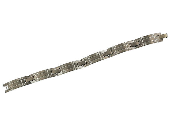 Tiffany & Co unisex diamond bracelet in 18k white gold