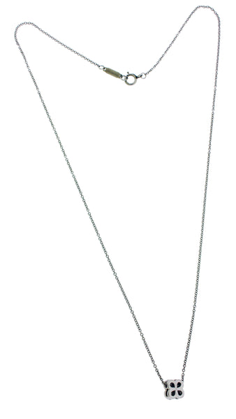 Tiffany & Co platinum diamond Necklace 16 inches long