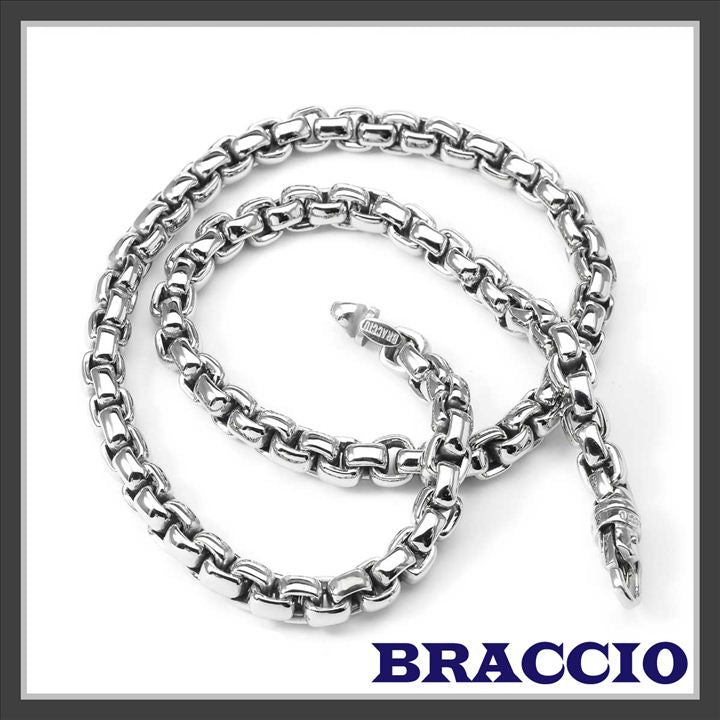 Braccio SS3887 Men's chain in Stainless Steel 24 inches