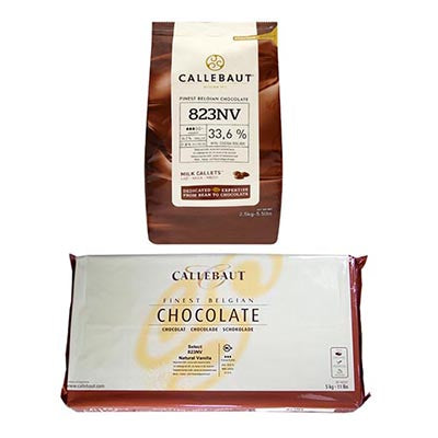 Callebaut 33.6% '823NV' Milk Chocolate
