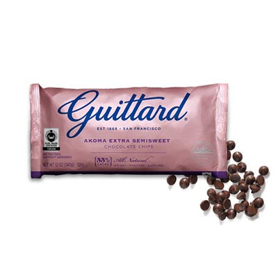 Guittard 55% 'Fair Trade' Bittersweet Chocolate Chips