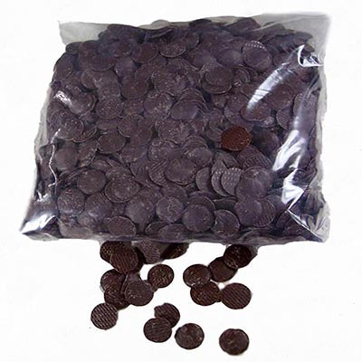 Carma 50% 'Bourbon Vanilla' Dark Chocolate Callets