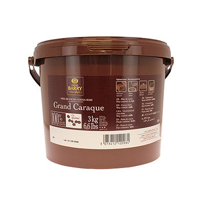 Cacao Barry 100% 'Grand Caraque' Unsweetened Chocolate Callets