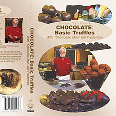 'Dare To Cook Chocolate' 4-part Video Series feat. Bill the Chocolate Man (all videos sold seperately)