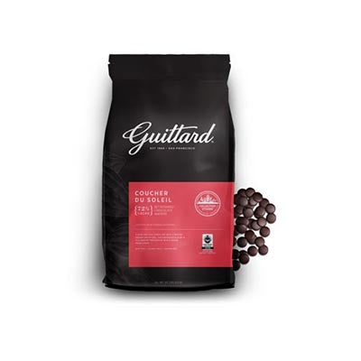 Guittard 72% 'Coucher du Soleil' Bittersweet Chocolate Callets