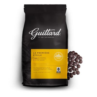 Guittard 58% 'La Premiere Etoile' Semisweet Chocolate Callets